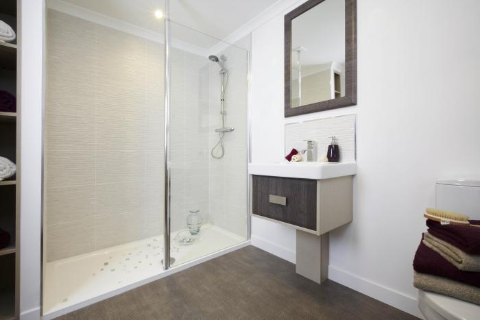 shower 2 bed park home for sale dorset