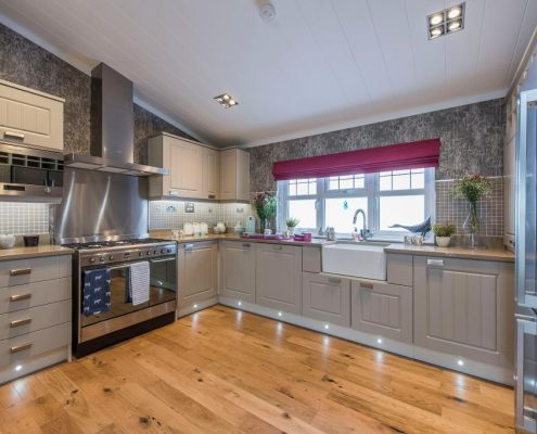 Park Homes Dorset Kitchen Example