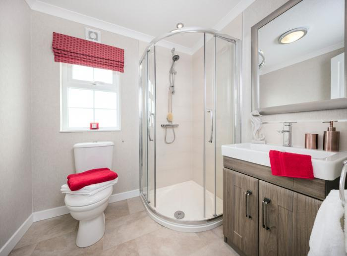 Omar mobile homes second bathroom Organford Manor Country Park Homes
