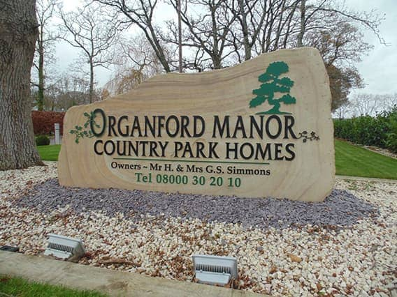 Organford Dorset Park Homes Welcome